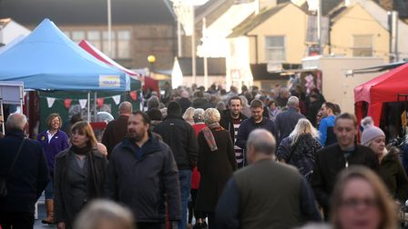 Thousands turned out for the March Christmas Market. Massive sums too were raised for various charit