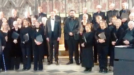 Ely Consort performing at Ely Cathedral's Lady Chapel. Picture: ROSEMARY WESTWELL.