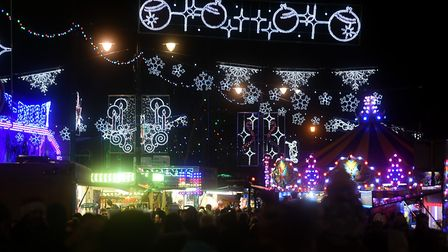 March Christmas Lights switch on. Picture: IAN CARTER