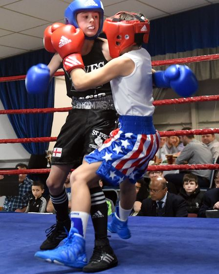 March boxers at the BRAZA Club dinner show, Quentin Doran v Tom Biddle Pictures: IAN CARTER