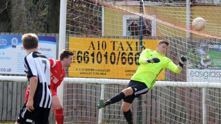 Harry Reynolds was back between the sticks for Ely City in their draw at Framlingham last Saturday.