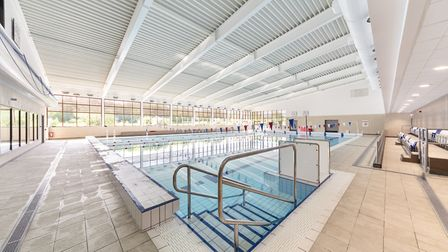 East Cambridge District Leisure Centre. The famous cathedral of Ely served as inspiration for the ch