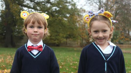 Pudsey ears and spotty socks have resulted in King's Ely raising hundreds of pounds for Children in