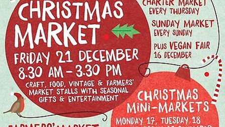 Christmas at Ely Markets