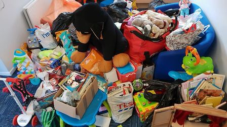 Fenland Police have thanked the public for donating toys following an appeal.Picture: FENLAND POLICE