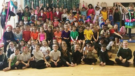 The Greatest Show by All Saints School children. Picture: ALL SAINTS