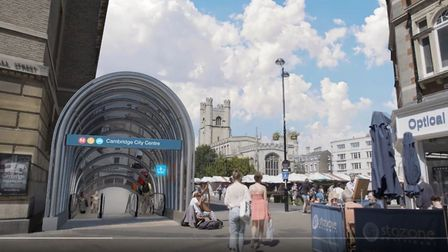 A glimpse of what Cambridge travel might look like in coming years. An underground station in the ma