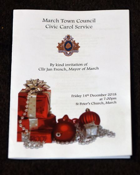 Mayors and council dignitaries from other parts of the county were among guests at the annual Mayor