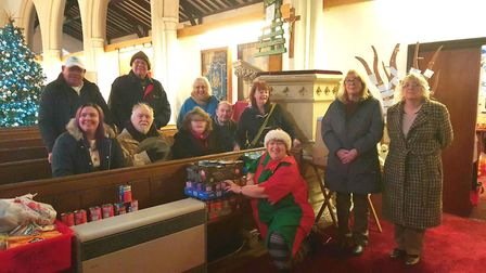 Timebank supports Foodbank in Littleport