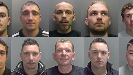 Members of an organised crime gang which committed more than 200 burglaries in an 11-month crime spr