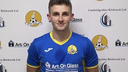 New March Town signing Drew Barker. Picture: MARCH TOWN FC