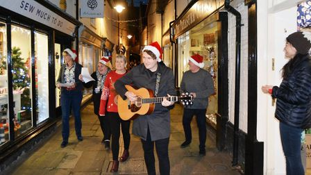 """The Mayor of Ely Cllr Mike Rouse is supporting the High Street Passage project and said: """"I think we"""