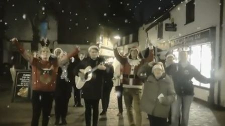 The festive rendition of the 1985 Shakin' Stevens hit has more than 14,000 views since causing a win