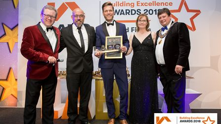 D.G. Building won the title of Best Local Builder or Traditional Craftsperson at the Local Authority