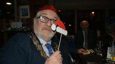 Mayor Mike Rouse hosted the annual Christmas dinner for his colleagues on the city council. The even