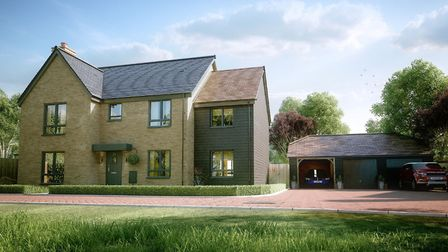 New housing development in Little Thetford to 'improve natural environment'. Picture: ANNINGTON.