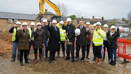 New £4 million housing development for disabled adults in Chatteris. Picture: PETE DAVIES