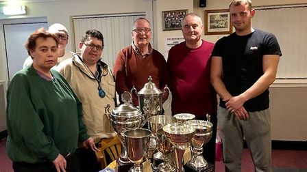 Members of March Town Flying Club held their annual presentation evening at the GER Club. Pictured a