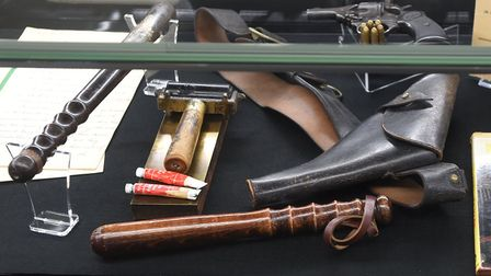 Opening of armed police museum in Chatteris