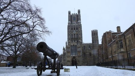 Ely's snow day captured by Fenland photographers. PHOTO: Vincent Rose