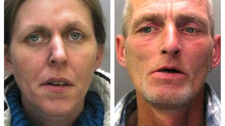 Paul and Astra Marriott who have been jailed after stealing thousands of pounds from an elderly neig