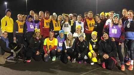 Ely Netball Club hold a charity tournament for Children In Need