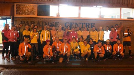Participants of the Ely Runners Beginners Course after completing a 5K run. Picture: SUBMITTED