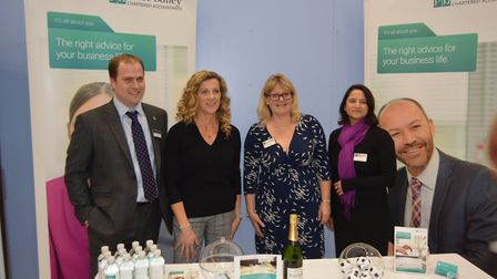 The Great East Cambridgeshire Business Boost event at The Hive in Ely on Friday, November 23. Pictur