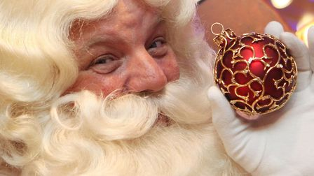Father Christmas (pictured) has revealed he WILL be stopping at Ely Museum. Picture: KATIE COLLINS /
