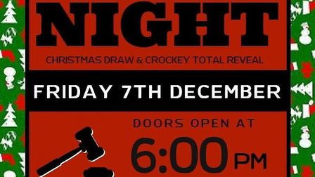 Wisbech Town Cricket & Hockey Club are holding an auction night to raise funds