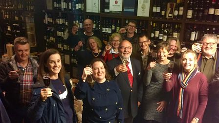 Owners Kate and Matthew Street took over Anglia Wines in 2014 but will close in the New Year and ret