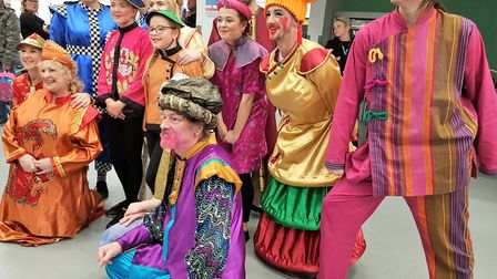 Great performances by the cast and crew of Littleport Players who staged this year's panto Aladdin.