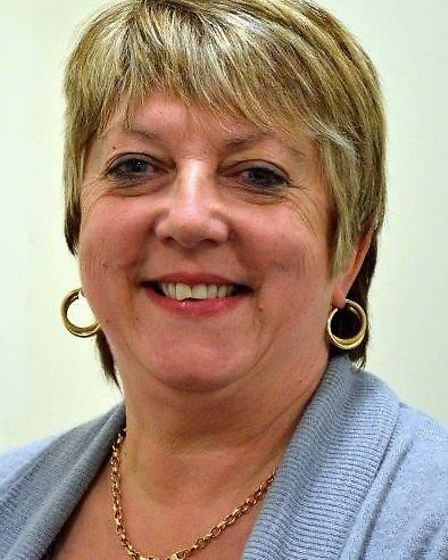Cllr Carol Sennitt of Soham who is charged with her husband Christopher of causing criminal damage t