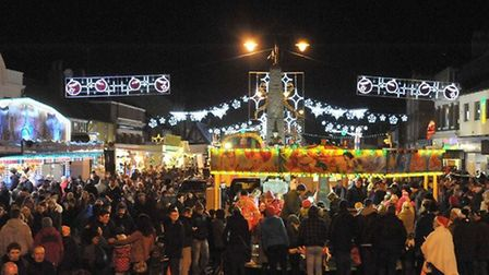 Throwback to last year's March Christmas Lights switch on. Picture: ARCHANT.