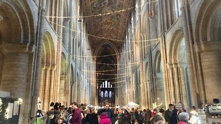 A magical festive fair set inside the iconic Ely Cathedral welcomed hundreds of visitors. Picture: C