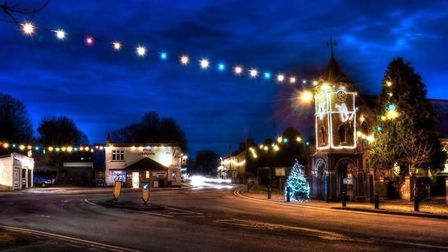 Doddington's Christmas lights switch-on takes place this weekend.