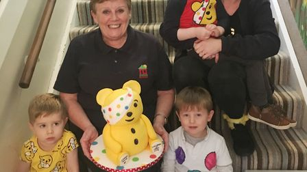 A week of fundraising from pyjama days to a teddy bears picnic took place at a Chatteris nursery in