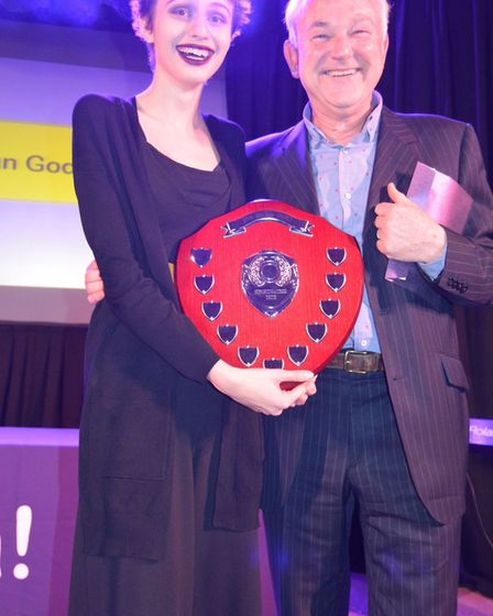 Viva's annual awards in Soham. Wonderful guests with patrons Mike Fenton, Stevens, Lisa Goddard and
