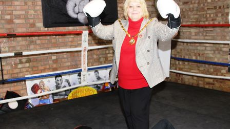 Whittlesey Boxing Club unveil new venue at Beggers Bridge in Turves. Picture: RWT PHOTOGRAPHY