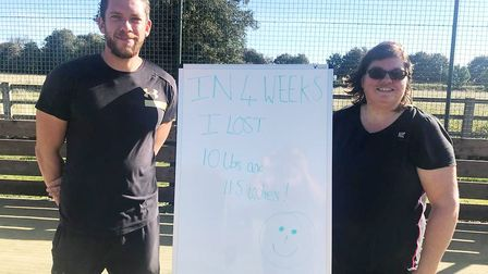 Wimblington bootcamp run by ex Paratrooper transforms more than 100 lives. Paul is pictured with Jul