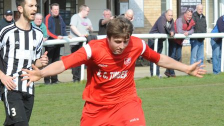 Striker Alex Theobald could feature for Ely City for the first time this season.