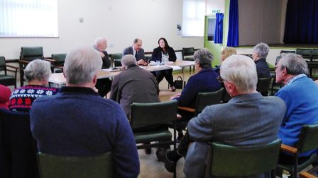 Shailesh Vara at Earith Village Hall on December 21. Picture: CONTRIBUTED