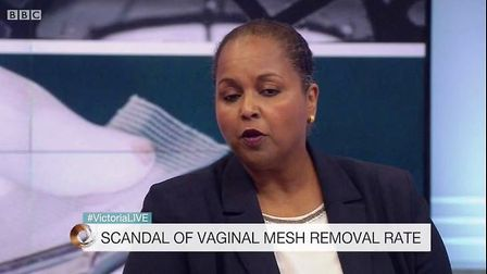 No more referals are allowed to mesh removal expert, surgeon Suzy Elneil of UCLH, owing to a huge ba