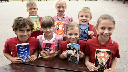 Pupils at Burrowmoor in March - The top reading schools in Cambridgeshire have been announced follow