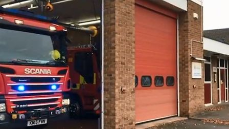 Cambridgeshire Fire and Rescue received a surprise donation after releasing their Elton John Christm
