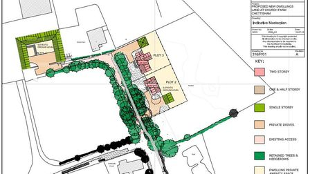 Plans to build houses on a 'peaceful and tranquil' road in Chettisham are set to be approved despite