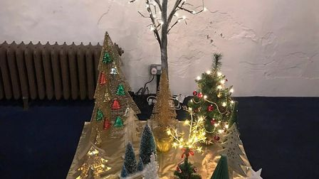 St Mary's Church in Whittlesey holds its 20th Christmas tree festival
