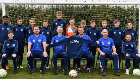 Witchford Colts U13 Blue have been sponsored by Ely Cleaning Services for the season. Picture: KIRST
