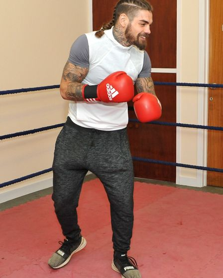 Tyler Goodjohn fights at the O2 Arena later this month. Picture: KATH SANSOM