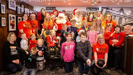 A little Christmas magic was sprinkled across Ely as children with special needs enjoyed breakfast w